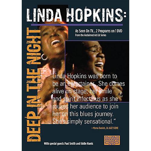 Hal Leonard Linda Hopkins - Deep in the Night (Visions of Jazz Series) DVD Series DVD Performed by Linda Hopkins-thumbnail