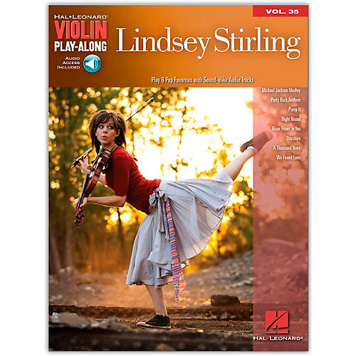 Hal Leonard Lindsey Stirling - Violin Play-Along Volume 35 Book/Online Audio