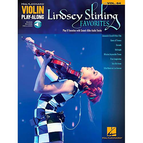 Hal Leonard Lindsey Stirling Favorites Violin Play-Along Volume 64 Book/Audio Online-thumbnail