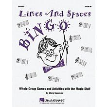 Hal Leonard Lines And Spaces Bingo (Game)
