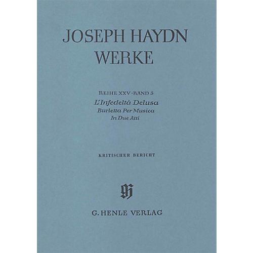 G. Henle Verlag L'infedeltÀ Delusa - Burletta per Musica Henle Edition Series Hardcover-thumbnail