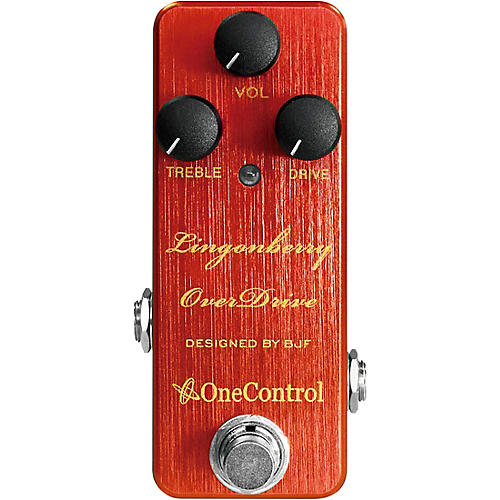 One Control Lingonberry Overdrive Effects Pedal-thumbnail
