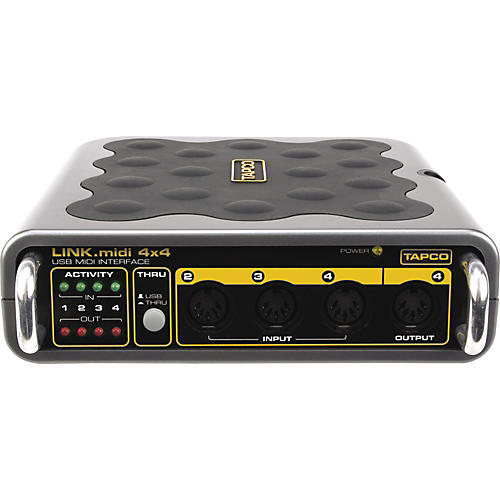 Tapco Link.MIDI 4x4 USB MIDI Interface
