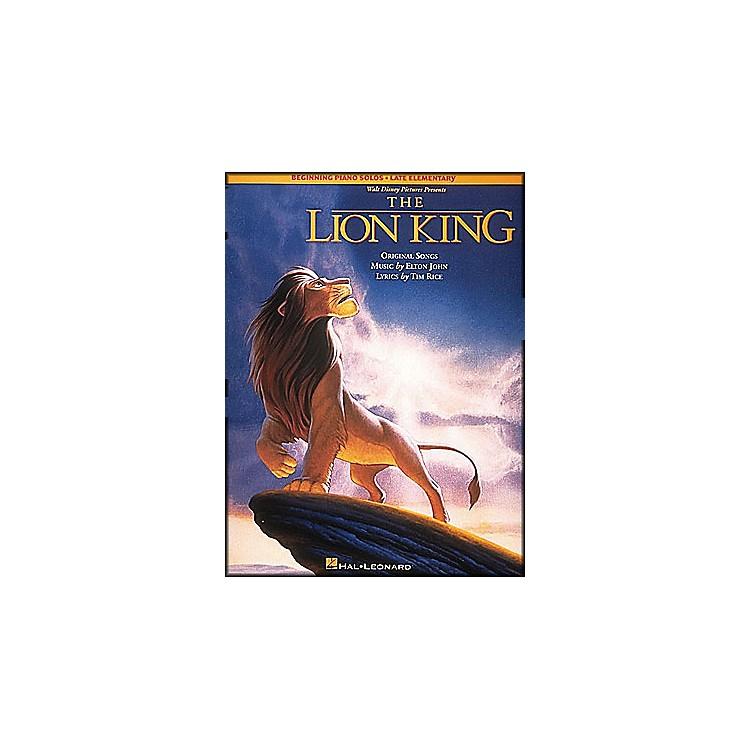 Hal LeonardLion King, The Beginning Piano Solos Late Elementary