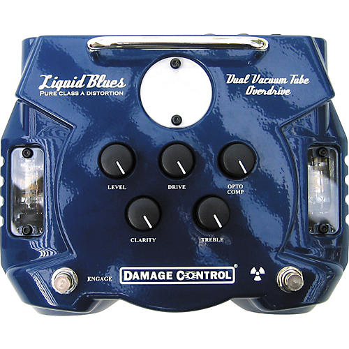 Damage Control Liquid Blues Dual Tube Overdrive Pedal