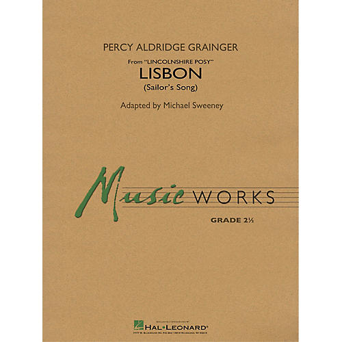Hal Leonard Lisbon (from Lincolnshire Posy) Concert Band Level 2.5 Arranged by Michael Sweeney-thumbnail