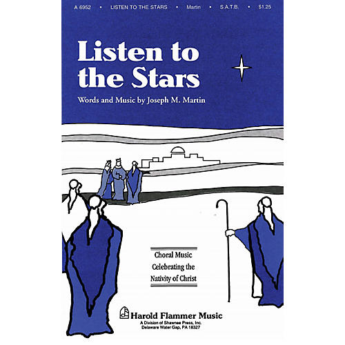 Shawnee Press Listen to the Stars (from The Voices of Christmas) ORCHESTRATION ON CD-ROM Composed by Joseph M. Martin-thumbnail