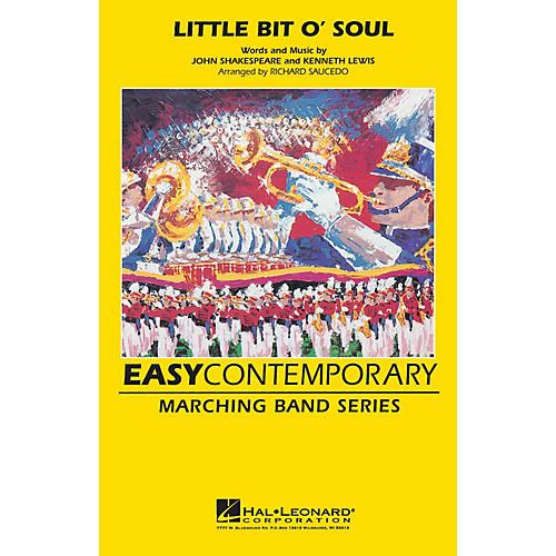 Hal Leonard Little Bit O' Soul Marching Band Level 2-3 Arranged by Richard Saucedo-thumbnail