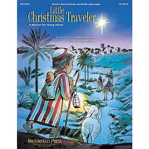 Hal Leonard Little Christmas Traveler (Sacred Musical) PREV CST PAK Arranged by John Purifoy
