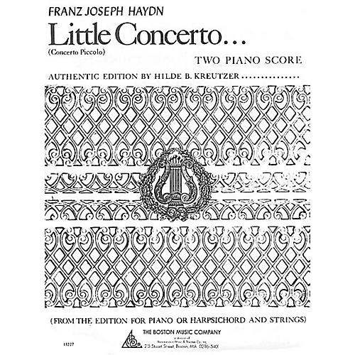Boston Music Little Concerto in C Music Sales America Series-thumbnail