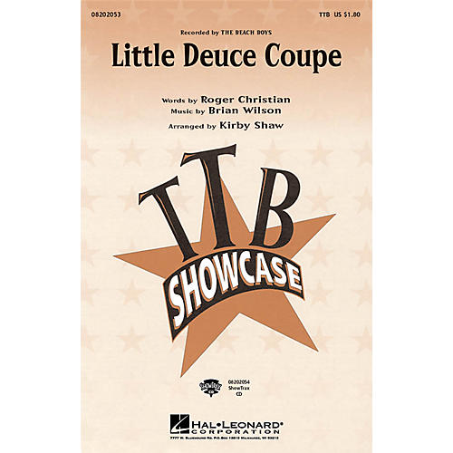 Hal Leonard Little Deuce Coupe ShowTrax CD by The Beach Boys Arranged by Kirby Shaw