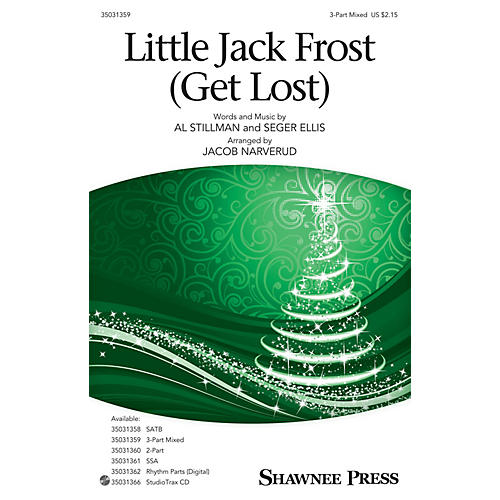 Shawnee Press Little Jack Frost Get Lost 3-Part Mixed arranged by Jacob Narverud-thumbnail