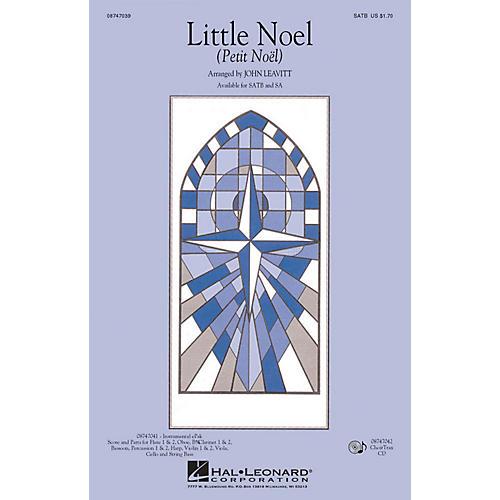 Hal Leonard Little Noel (Petit Noël) IPAKCO Arranged by John Leavitt