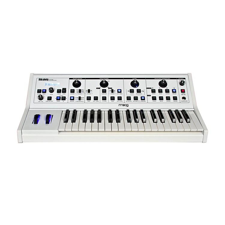 MoogLittle Phatty Stage II Keyboard Synthsizer with Custom White Finish