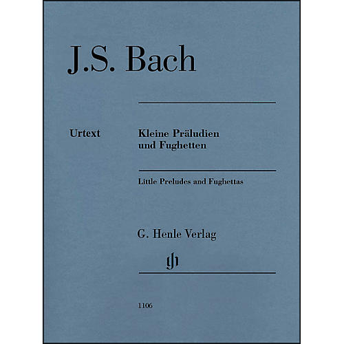 G. Henle Verlag Little Preludes And Fughettas without Fingering By Bach / Steglich