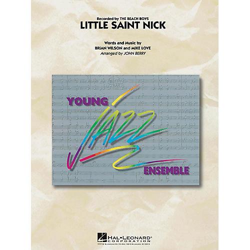 Hal Leonard Little Saint Nick Jazz Band Level 3 Arranged by John Berry-thumbnail