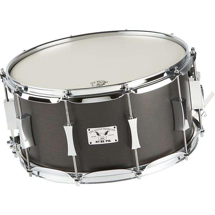 Pork PieLittle Squealer Birch / Mahogany Snare Drum7x14 InchBlack Satin