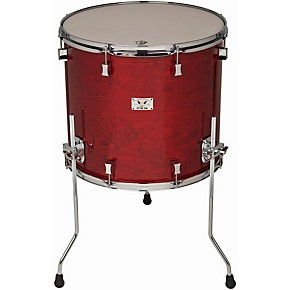 Pork pie little squealer birch mahogany floor tom with for 13 inch floor tom