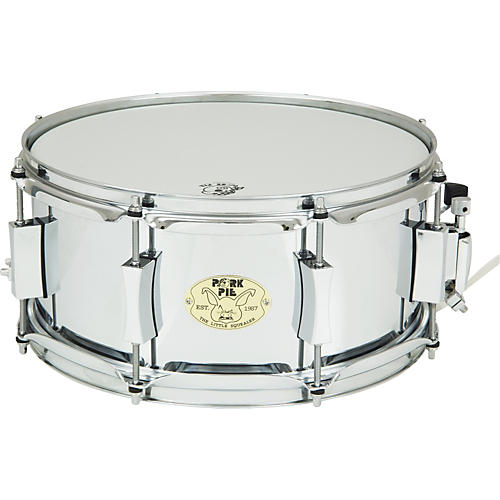 Pork Pie Little Squealer Steel Snare Drum 13 x 6 in.