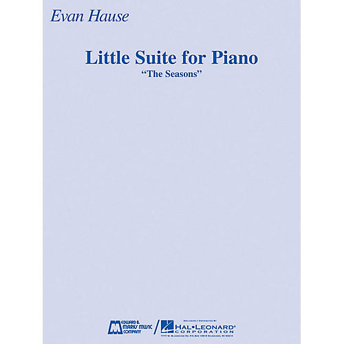 Edward B. Marks Music Company Little Suite for Piano (The Seasons) E.B. Marks Series Softcover-thumbnail