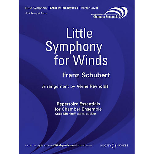 Boosey and Hawkes Little Symphony for Winds Windependence Chamber Ensemble  by Franz Schubert Arranged by Verne Reynolds-thumbnail