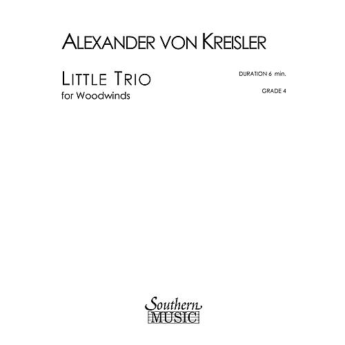 Southern Little Trio (Woodwind Trio) Southern Music Series by Alexander von Kreisler-thumbnail