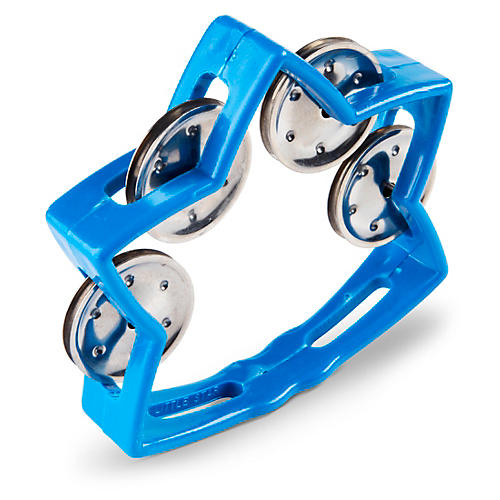 Rhythm Band Littlestar Tambourine Blue
