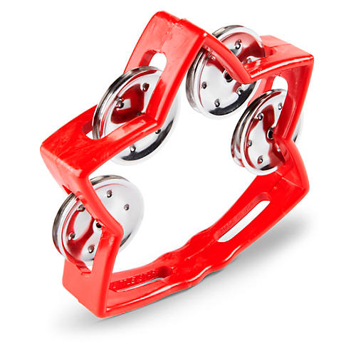 Rhythm Band Littlestar Tambourine Red