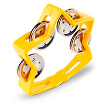 Rhythm Band Littlestar Tambourine Yellow