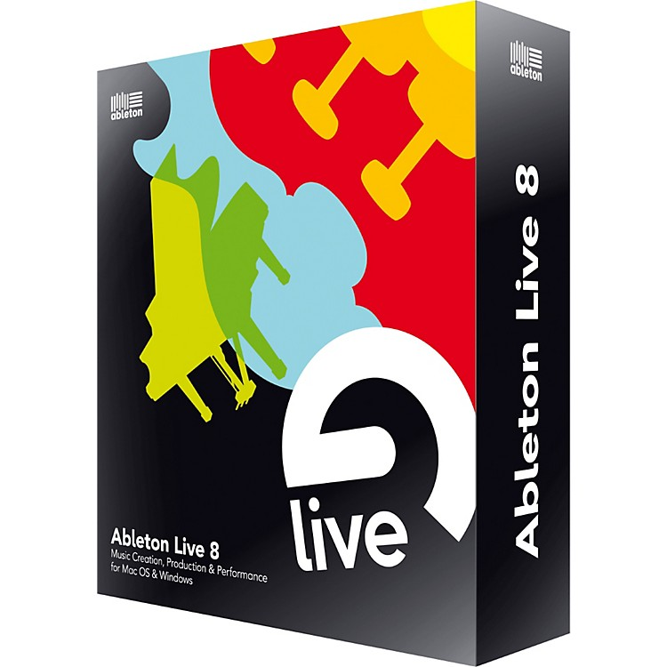Ableton Live 8 Upgrade from Live 7