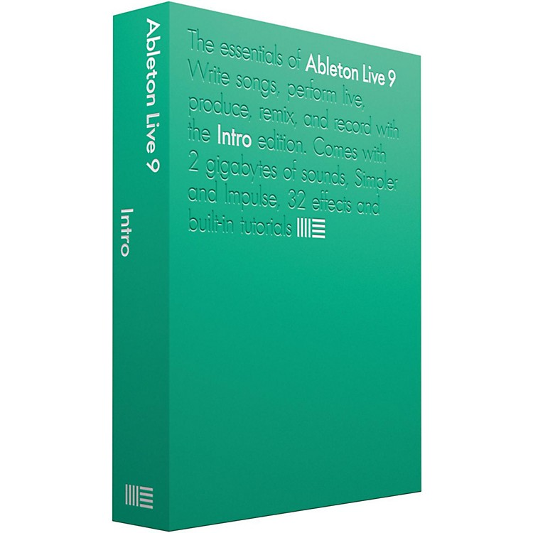 Ableton Live 9 Intro Software Download