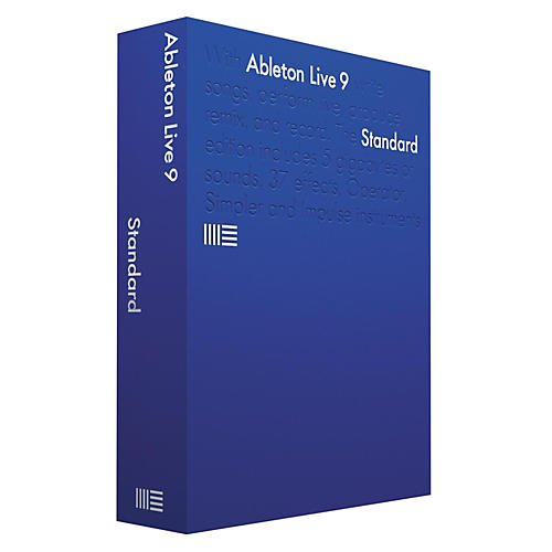 Ableton Live 9 Standard Software Download