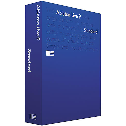 Ableton Live 9 Standard Upgrade from Live LE/Intro