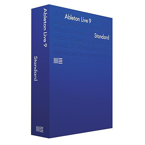 Ableton Live 9 Standard Upgrade from Standard 1-8 Software Download
