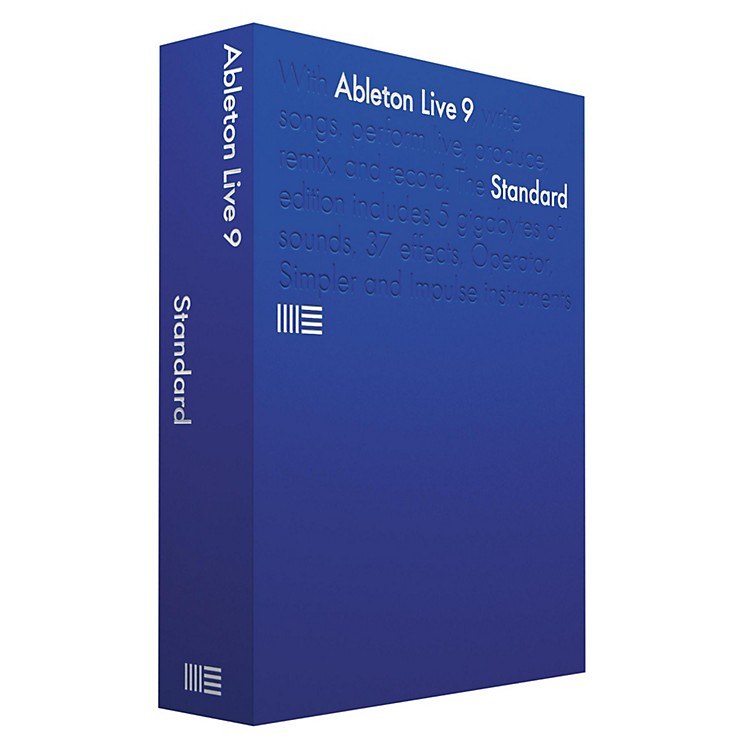 AbletonLive 9 Standard