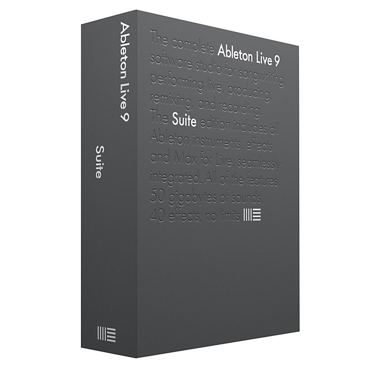 Ableton Live 9 Suite Educational Version Software Download