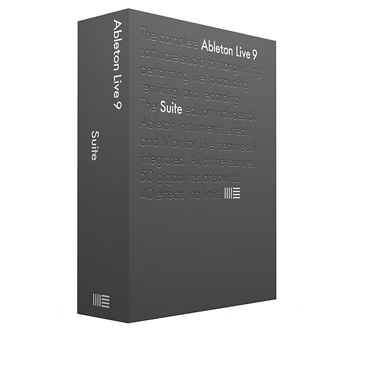 Ableton Live 9 Suite Educational Version