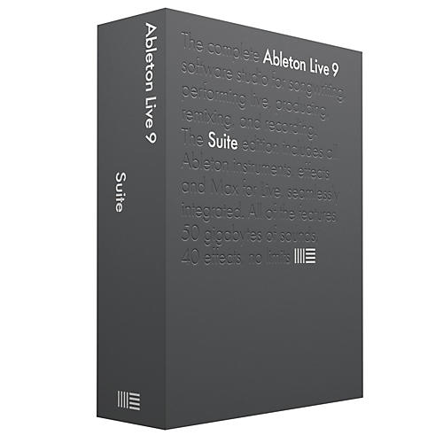 Ableton Live 9 Suite Software Download