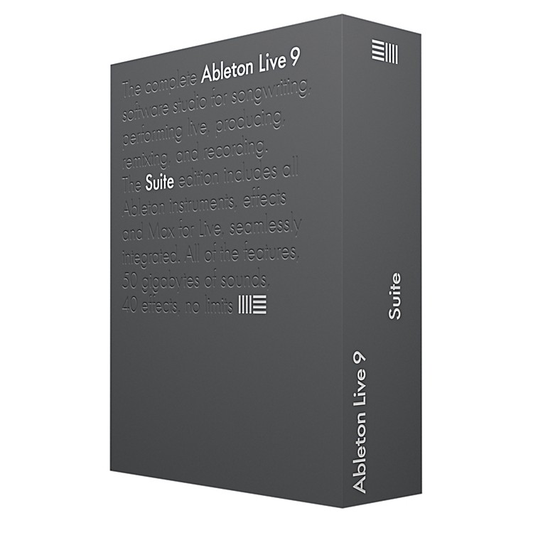 Ableton Live 9 Suite Upgrade from Live Lite