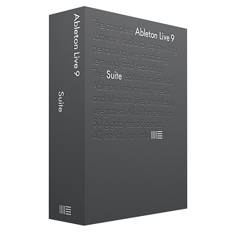 Ableton Live 9 Suite
