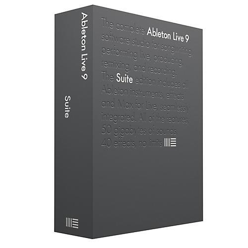 Ableton Live 9.5 Suite Upgrade from Live 9 Standard Software Download