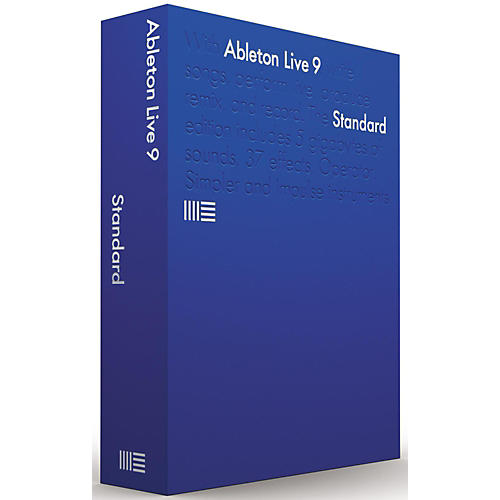 ableton live 9 7 standard upgrade from lite software download musician 39 s friend. Black Bedroom Furniture Sets. Home Design Ideas