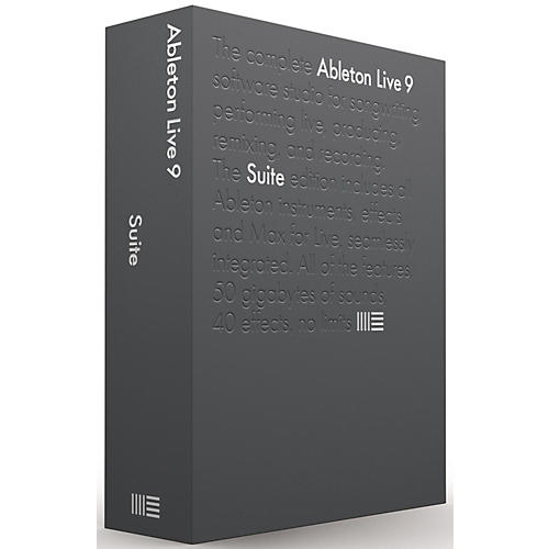 Ableton Live 9.7 Suite Upgrade from Lite Software Download