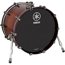 Yamaha Live Custom Bass Drum 22 x 14 in. Amber Shadow Sunburst