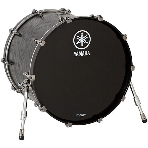 Yamaha Live Custom Bass Drum without Mount 22 x 18 in. Black Wood