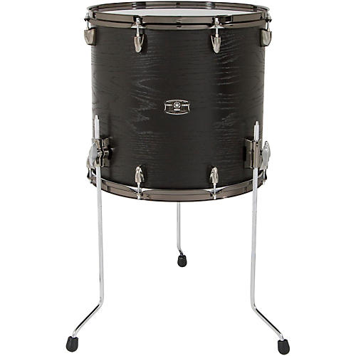 Yamaha live custom floor tom 14 x 13 in black wood for 13 floor tom