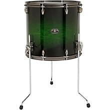Yamaha Live Custom Floor Tom 14 x 13 in. Emerald Shadow Sunburst
