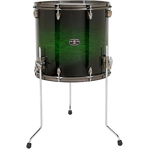 Yamaha live custom floor tom 14 x 13 in emerald shadow for 13 floor tom