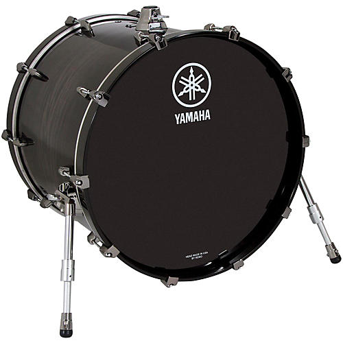yamaha live custom oak bass drum 20 x 16 in black wood musician 39 s friend. Black Bedroom Furniture Sets. Home Design Ideas