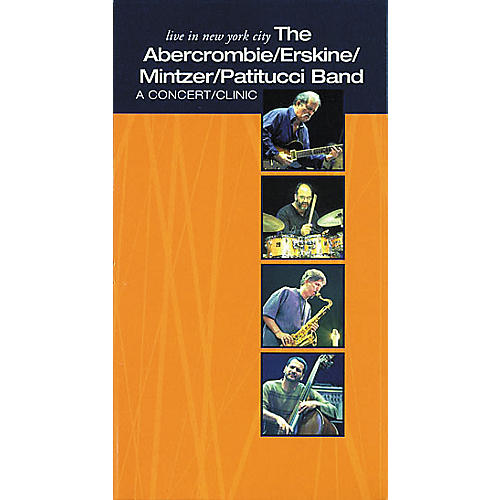 Hudson Music Live in New York City - The Abercrombie Erskine Mintzer Patitucci Band (VHS)-thumbnail